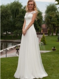White wedding dress in Cape Town